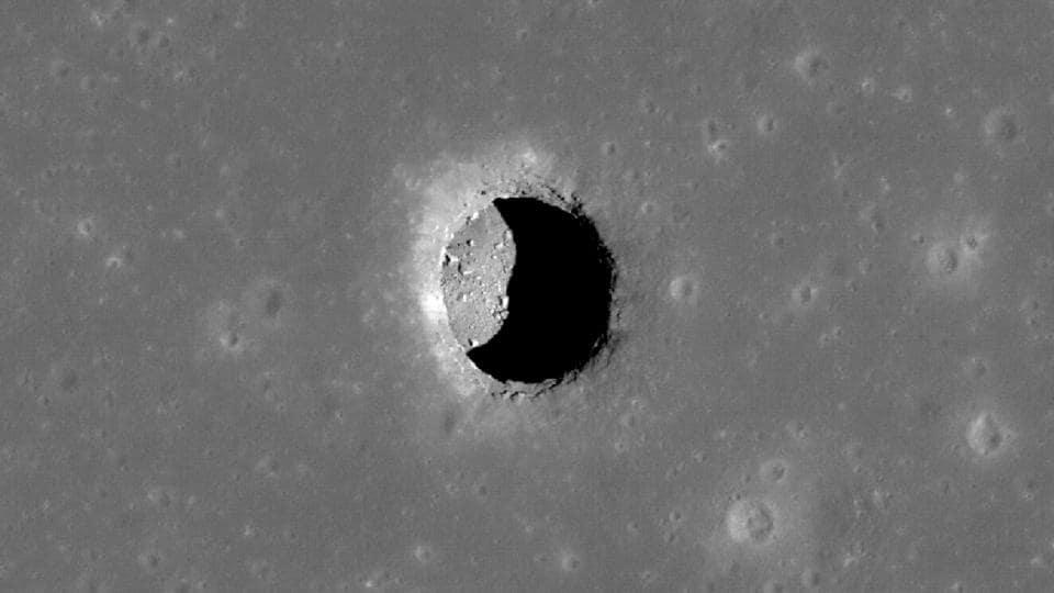 Moon,Lava tubes,Lunar surface
