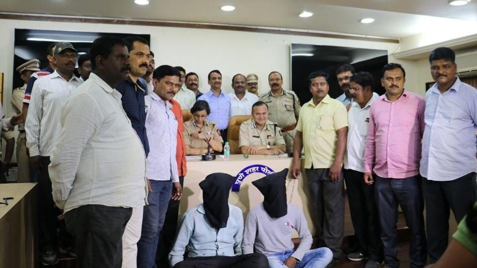 The two men were identified by the police as Akshay Kashinath Jamdare, 21, a casual factory worker originally from Beed and his debt-ridden, Pune-based associate, Roshan Nandkumar Shinde, 20.
