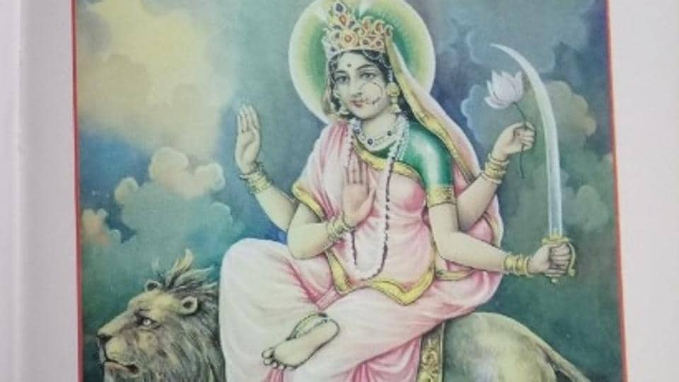 When sage Katyayan performed tapa for thousands of years, Goddess Durga was pleased and blessed him by being born as his daughter, Katyayani.