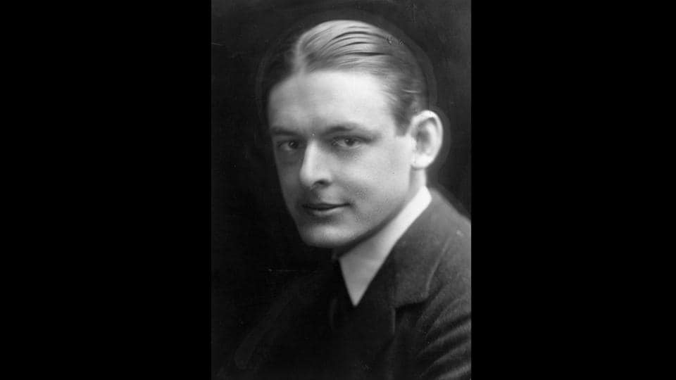 'The Waste Land' was written during the aftermath of WW1 and was perceived differently in different countries and eras. In Europe, it was seen as a lament for modern civilization. The kind of immigrant Eliot was, he'd probably have enough trouble in present day Britain, given he hung around Soho unemployed after his course of study at Oxford.  (Hulton Archive / Getty Images)