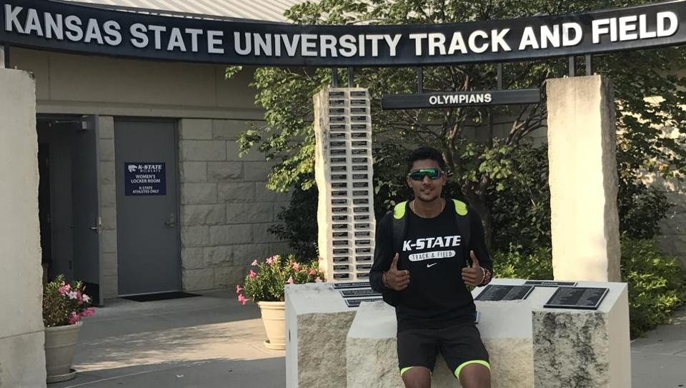 Tejaswin Shankar will be at the Kansas State University on a four-year scholarship.