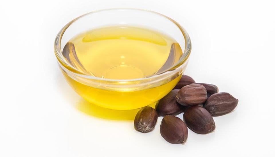 Jojoba oil is actually a liquid wax that forms around the seeds of the plant.