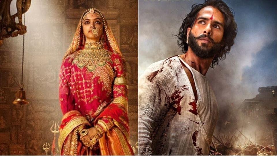 Deepika Padukone and Shahid Kapoor play royals in Padmavati.