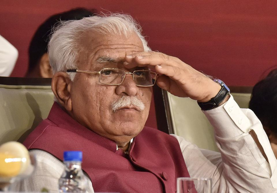 CM Khattar is currently on a two-day visit to Gurgaon.