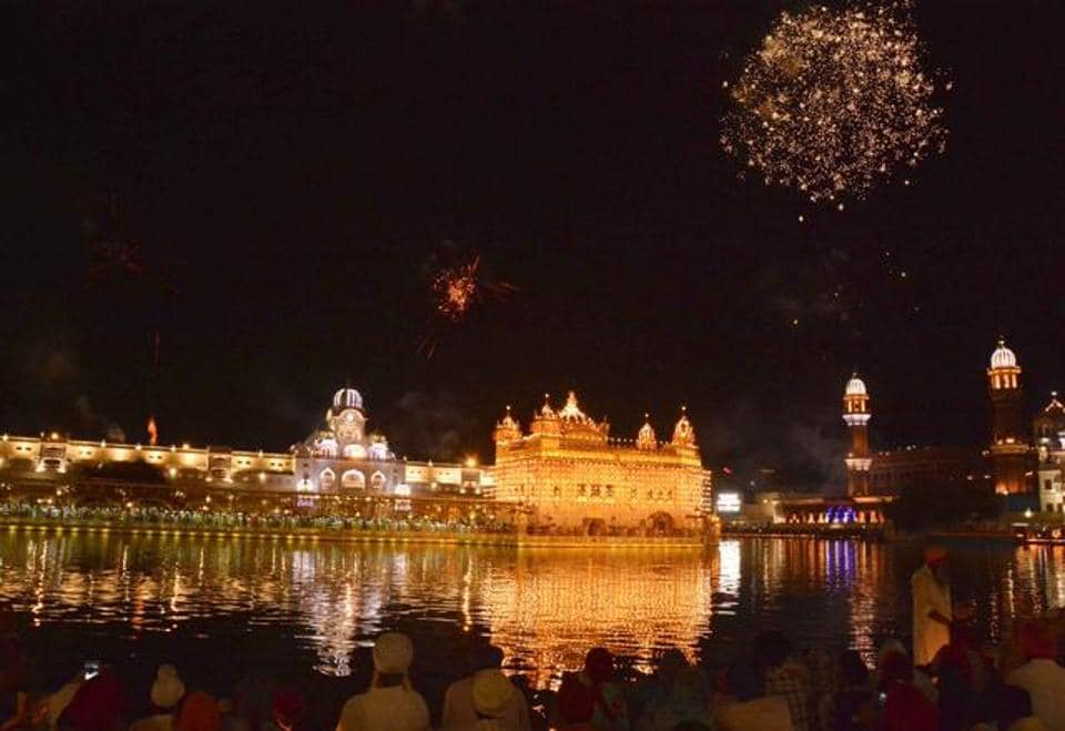 So far, the SGPC has illuminated the Golden Temple and conducted fireworks.