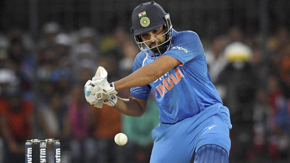 Indian cricket team opener Rohit Sharma hit six fours and four sixes in his match-winning 71 against Australia cricket team in the third ODI at Holkar Stadium in Indore on Sunday.
