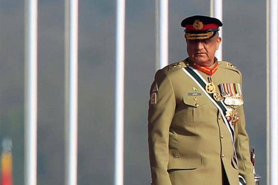 Pakistan's Army Chief of Staff Lieutenant General Qamar Javed Bajwa.