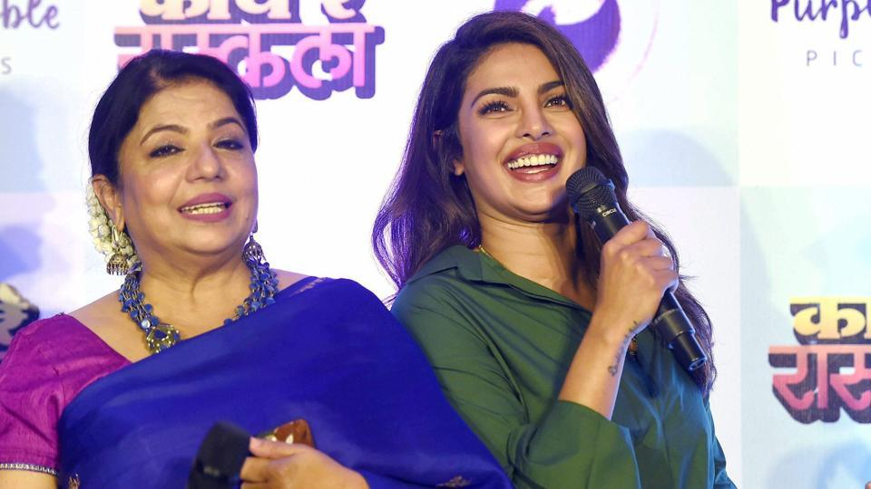 Priyanka Chopra runs her production house Purple Pebble Pictures with help from her mother Madhu Chopra. Ventilator is the first Marathi film from the production house.