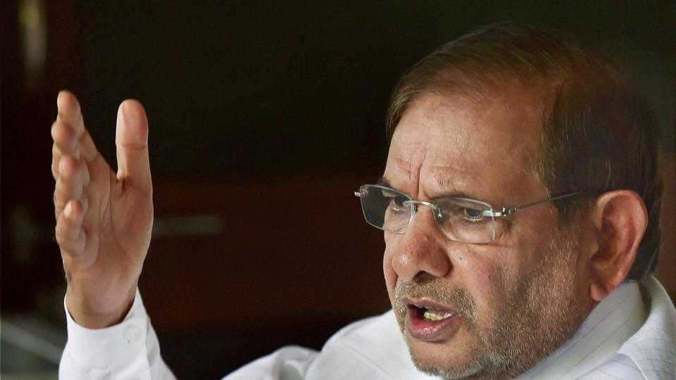 Sharad Yadav,Nitish Kumar,JDU rebel