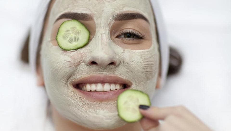 Instead of chemical skincare products, try natural ingredients-based products like peppermint soaps, face packs with turmeric powder, fresh cream, pumpkin.