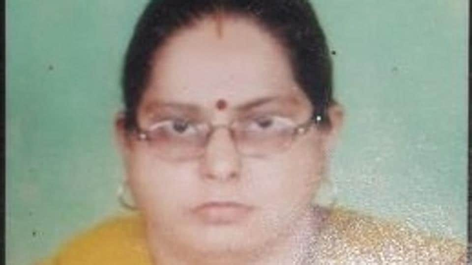 Police said Kanchan Kapoor had tried to burn the body of Swarna (above) to make it look like an accident.