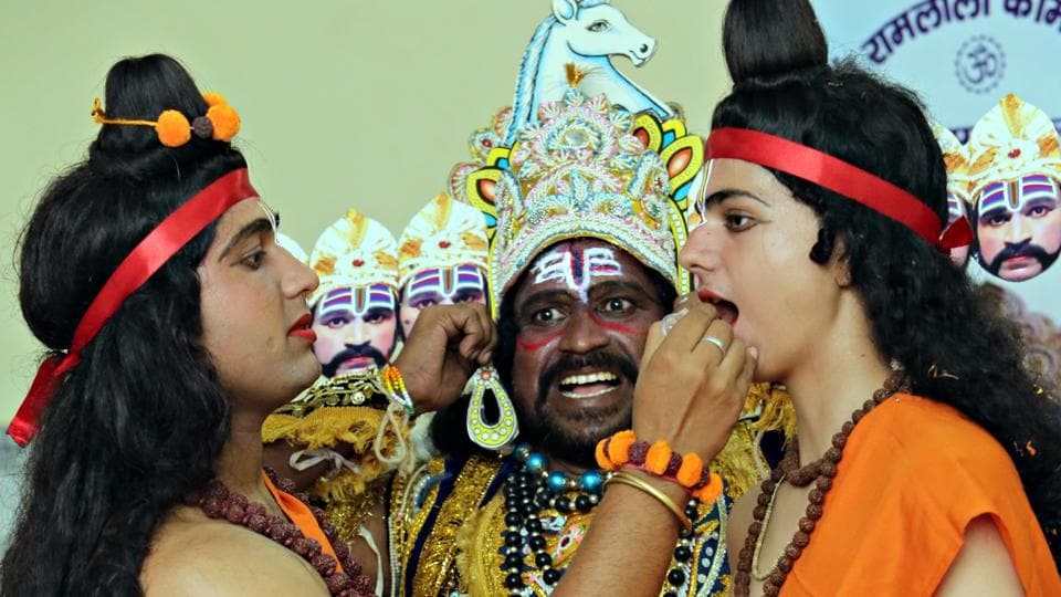 Residents share their experiences of playing various characters in Ramlila, held at various venues in Gurgaon.