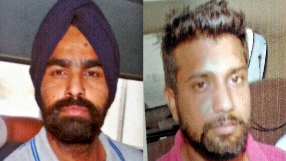 Murder accused Ranjit Singh and Amrit Pal escaped from police custody in Abohar on Wednesday.