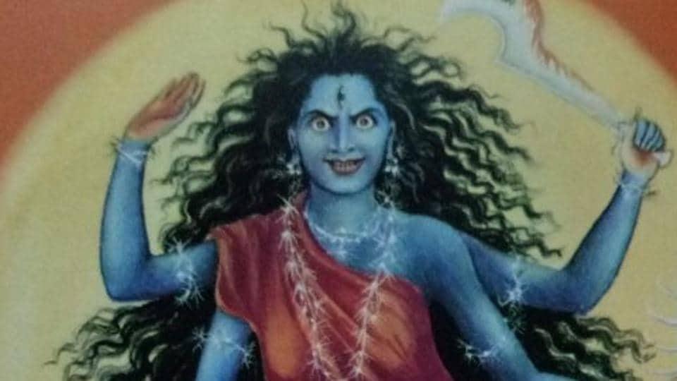 Navaratri 2017,Navaratri 2017 day seven,Kaalratri