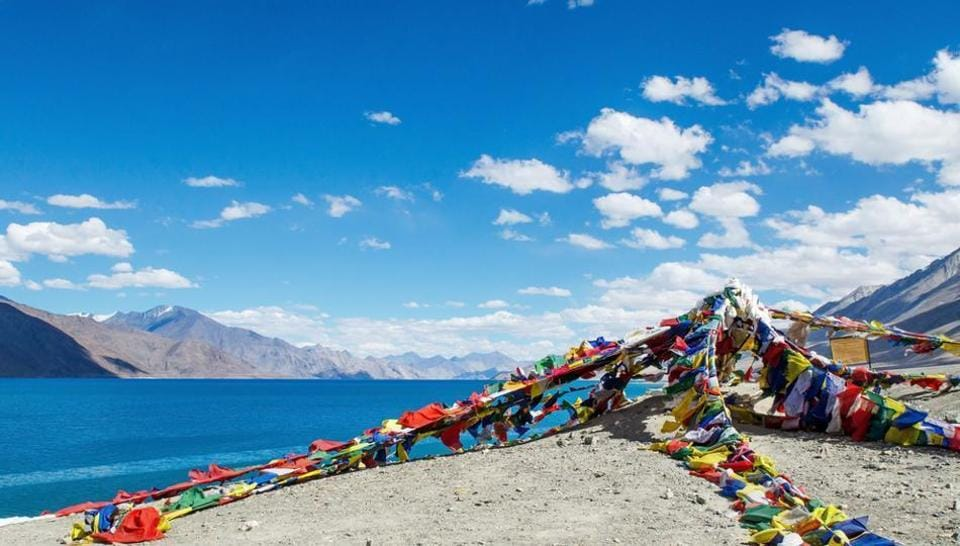 Leh-Ladakh boasts of snow-laden Himalayan ranges, lush green landscapes, sparkling blue waters, deep gorges and colourful Buddhist monasteries.