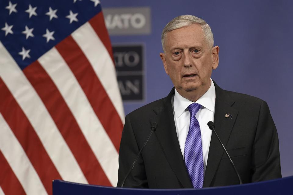 US Defence Secretary James Mattis arrived in Afghanistan on a surprise visit.
