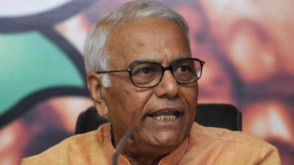 P Chidambaram lauds Yashwant Sinha for talking 'truth to power'