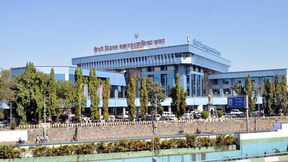 Main building of Pimpri Chinchwad Municipal Corporation (PCMC).