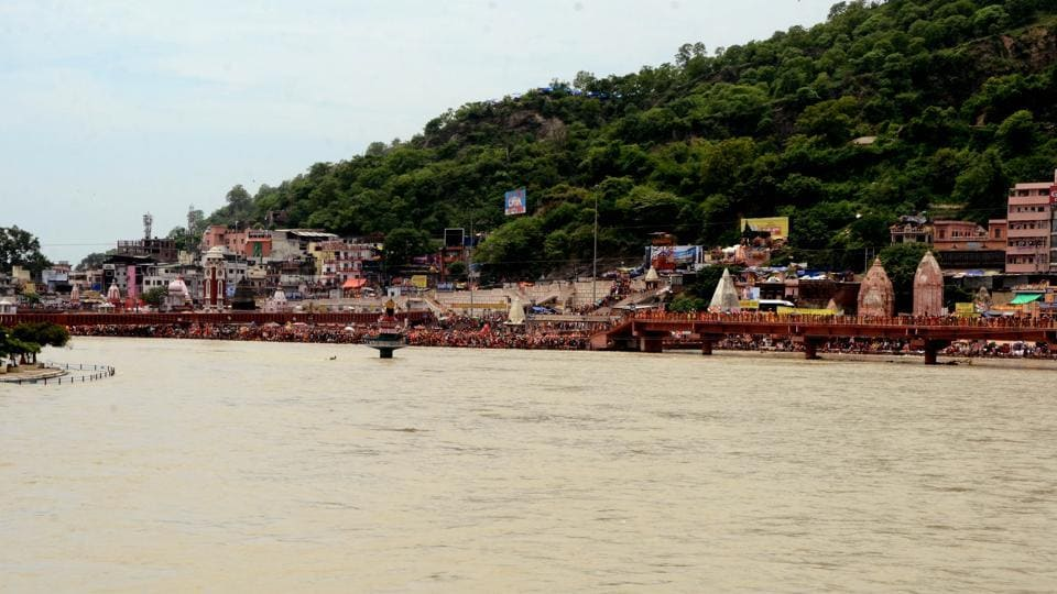 The Har-Ki-Pauri area is a nerve centre of religious activities in Haridwar.