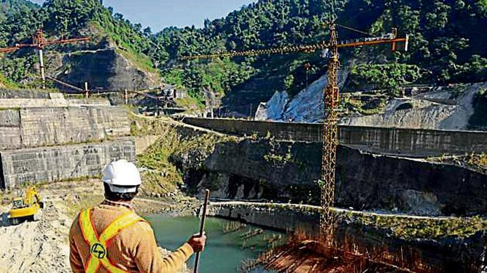 40 big and small projects generating over 15,000 MW are being constructed in Arunachal Pradesh.