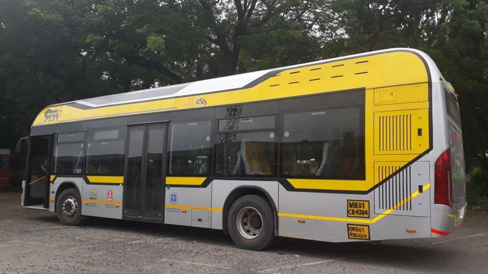 These 32-seater duel fuel, low-floor, air-conditioned buses will operate on routes connecting BKC to the Bandra, Kurla and Sion railway stations.