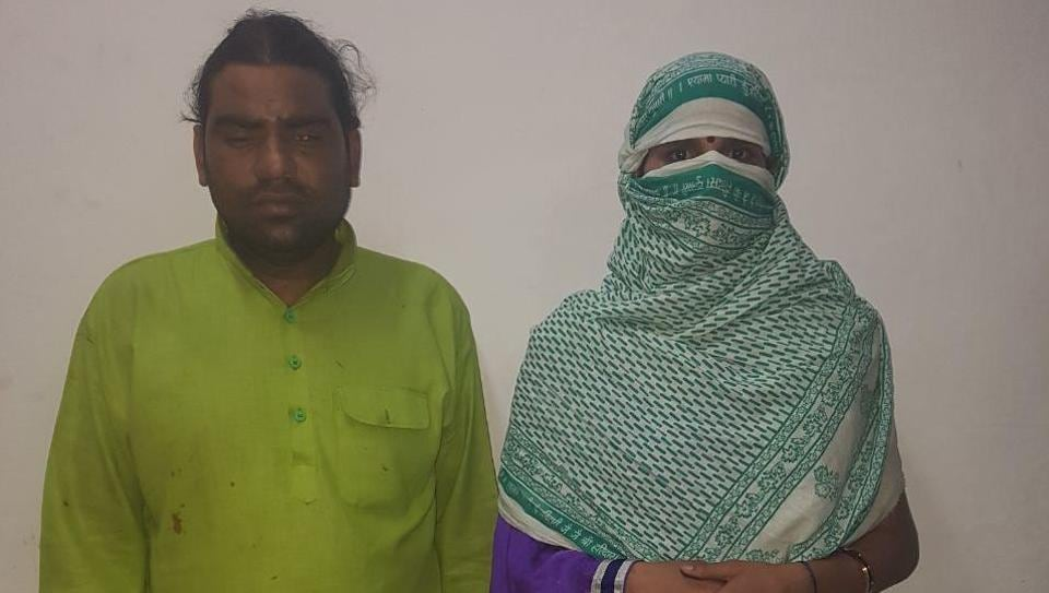 Lakhan Dubey, the priest of Pracheen Shiv Mandir in Gandhi Nagar planned the murder with his wife.