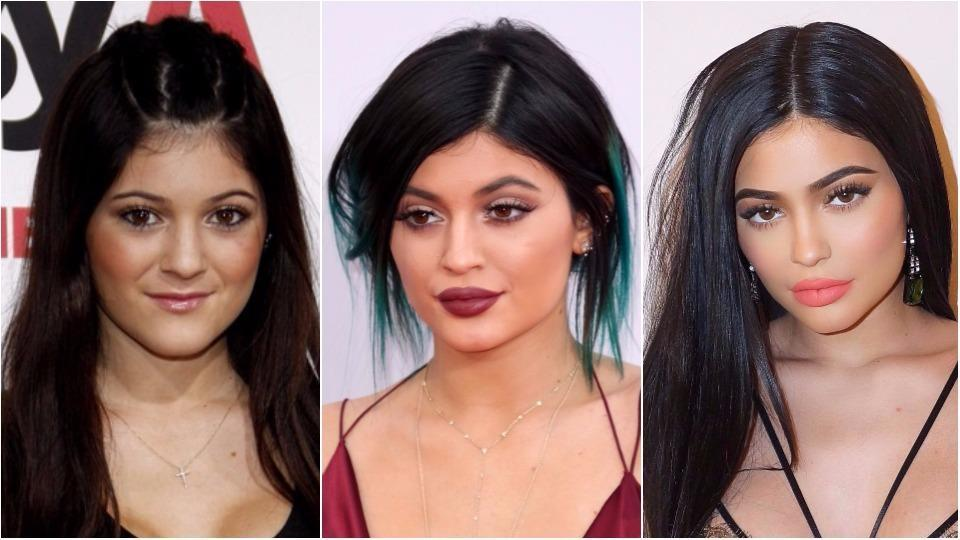 Kylie Jenner's transition has been quite drastic.