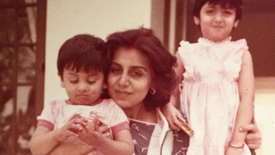 Neetu Singh posted a sweet throwback picture on Ranbir's birthday.