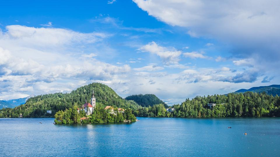 Slovenia is nestled between Croatia, Italy and Austria, and covers an area of just 20,000 sq km.