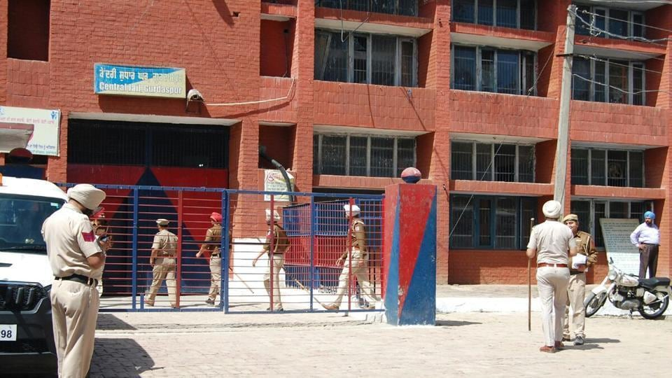 File photo of central jail Gurdaspur.