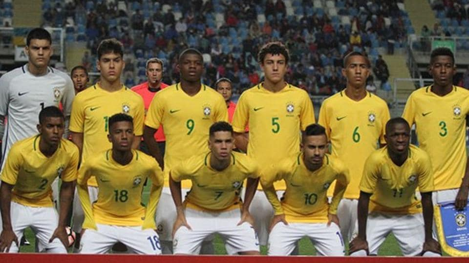 FIFA U-17 World Cup,FIFA U-17 World Cup 2017,Brazil U-17 football team