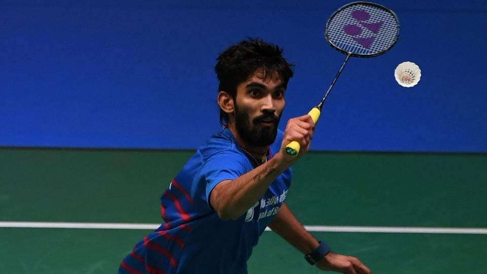 Kidambi Srikanth is the highest ranked Indian men's singles badminton player in the world at No.8.