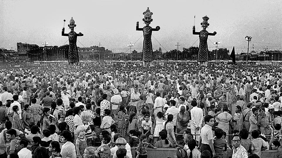 Dussehra celebrations on October 11, 1978.