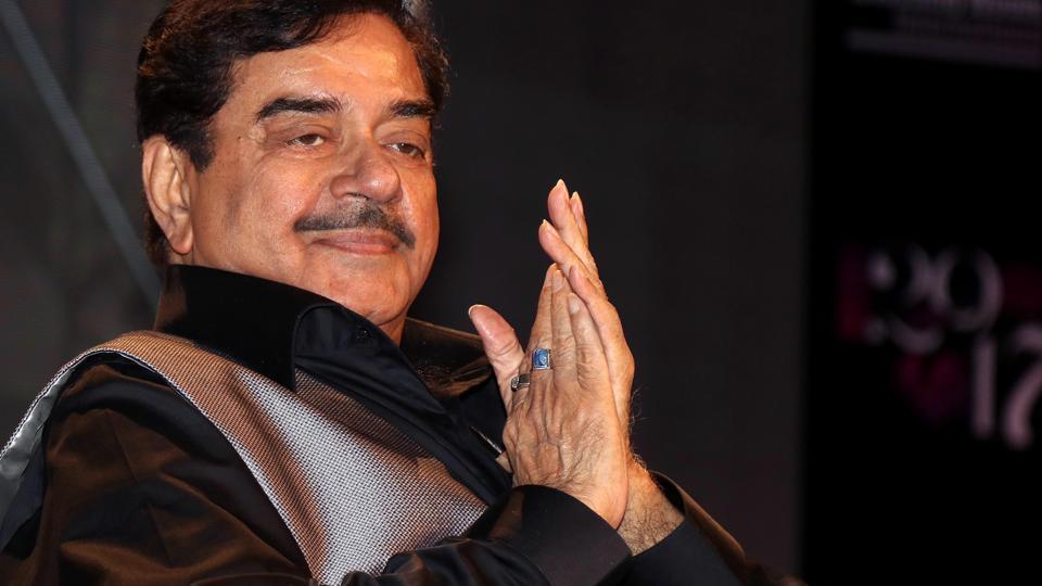 Shatrughan Sinha in Mumbai on July 18, 2017.