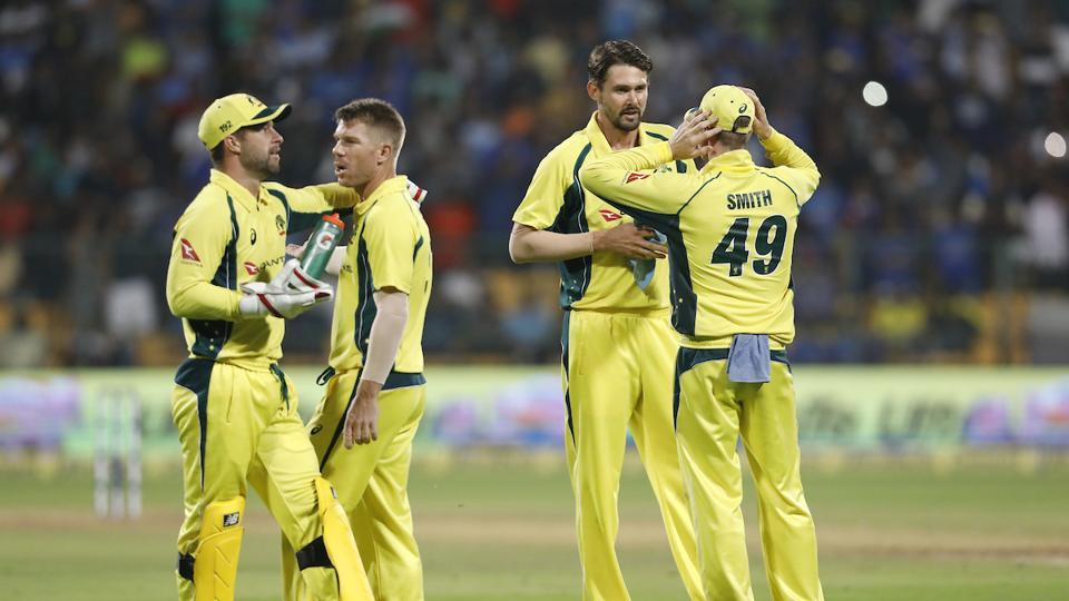 David Warner's ton and a solid show from Kane Richardson and Co. helped Australian cricket team beat India by 21 runs in the fourth ODI at the M Chinnaswamy Stadium. Catch full cricket score of India vs Australia, 4th ODI here