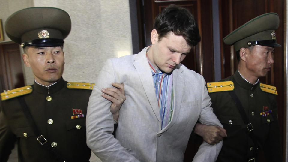 North korea,Donald Trump,Otto Warmbier