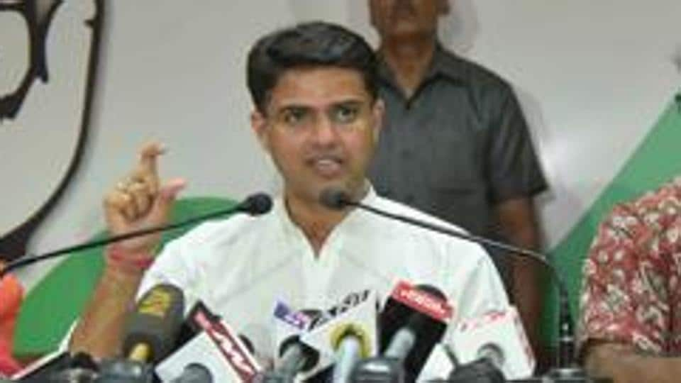 Sachin Pilot was in Ajmer to lead a cycle rally to protest against rising prices of petrol and diesel.
