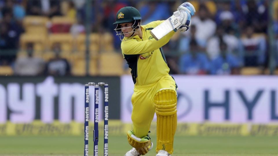 Australia's Peter Handscomb (43 off 30 balls) was responsible for taking Australia to a good total. (AP)