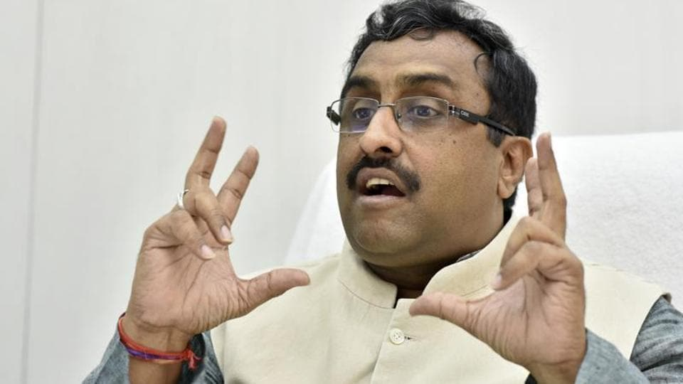 BJP general secretary Ram Madhav said large number of people who participate in activities such as stone pelting  are influenced by propaganda on the social media.