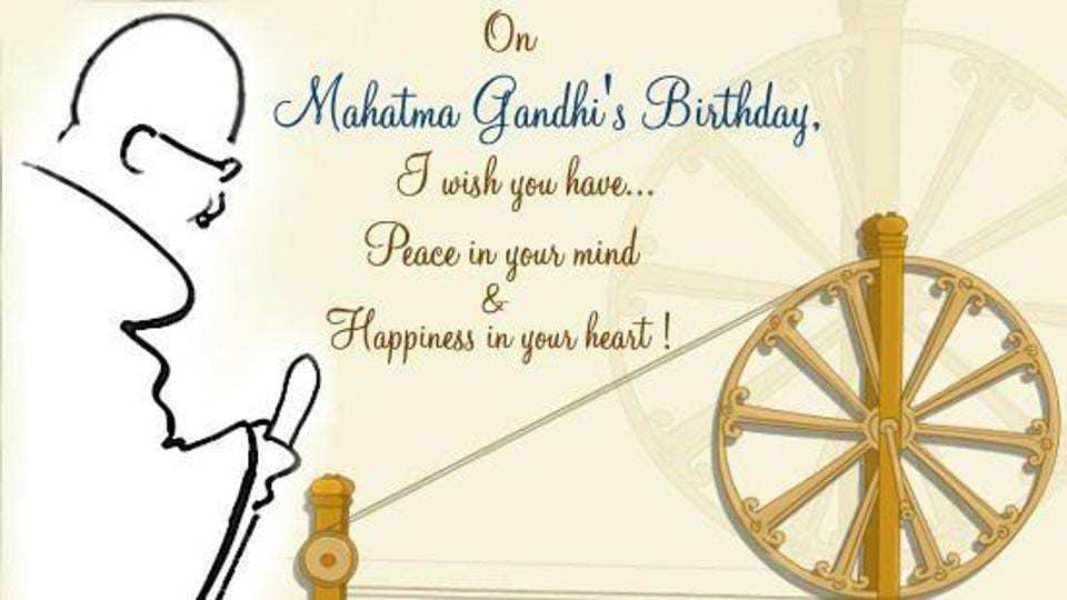Gandhi Jayanti 2017 Best Quotes Smses Wishes To Share On Whatsapp