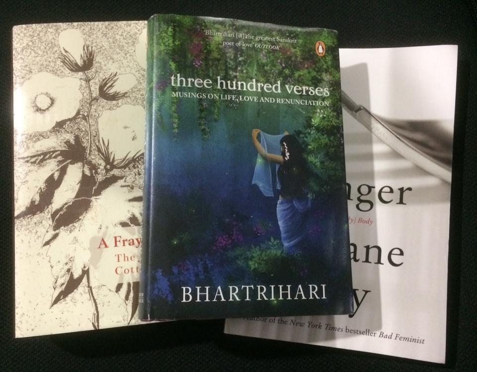Roxane Gay,Bhartrihari,AND Haksar