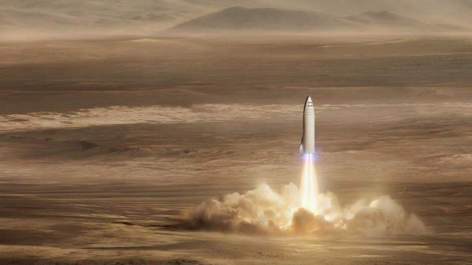 SpaceX,Elon Musk,manned mission to Mars