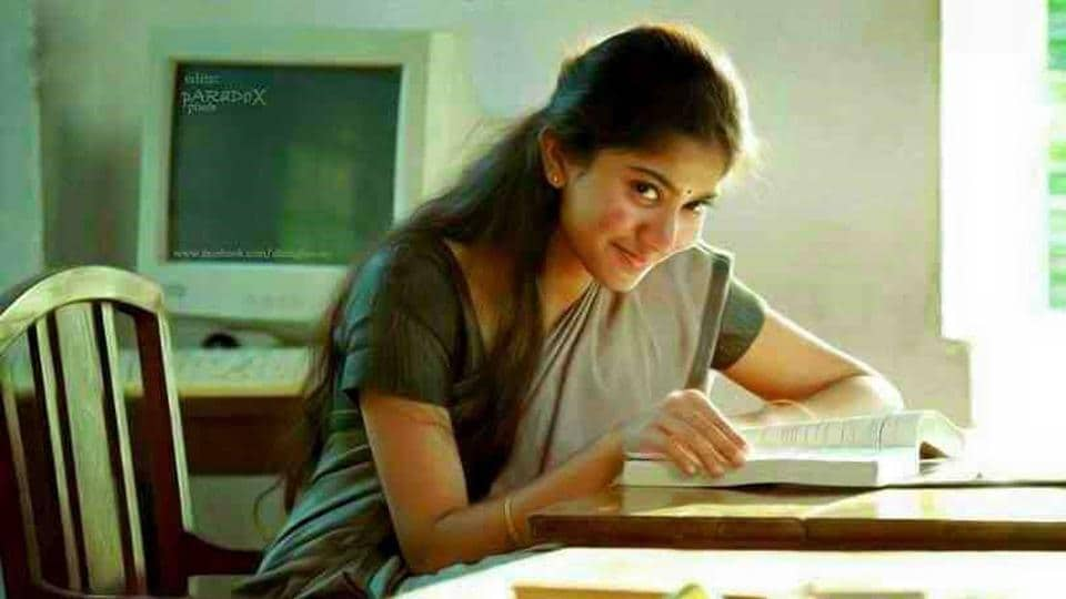 Sai Pallavi in a shot from her hit Malayalam film Premam.