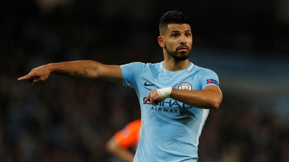 Man City striker Sergio Aguero injured in auto  crash