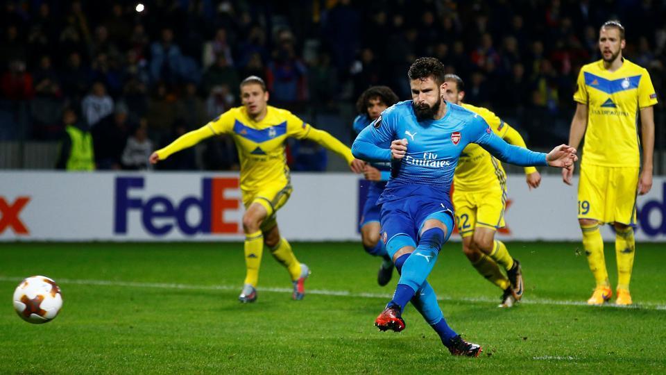 UEFA Europa League,Arsenal FC,Everton FC