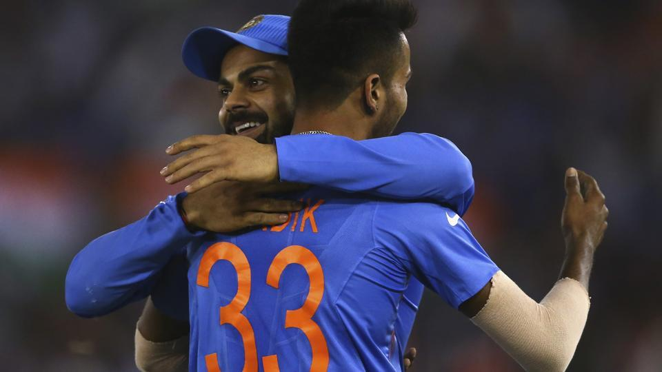 Indian cricket team skipper Virat Kohli has put tremendous faith in his young allrounder Hardik Pandya and the fast-bowling batter from Baroda, teammate of Irfan Pathan in the Ranji team, has vindicated the faith with some match-winning performances including in the ongoing series against Australia cricket team.