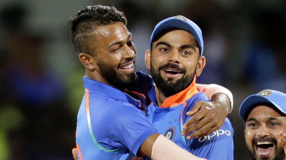Virat Kohli is impressed with Hardik Pandya's performance in the ongoing India vs Australia ODI series.