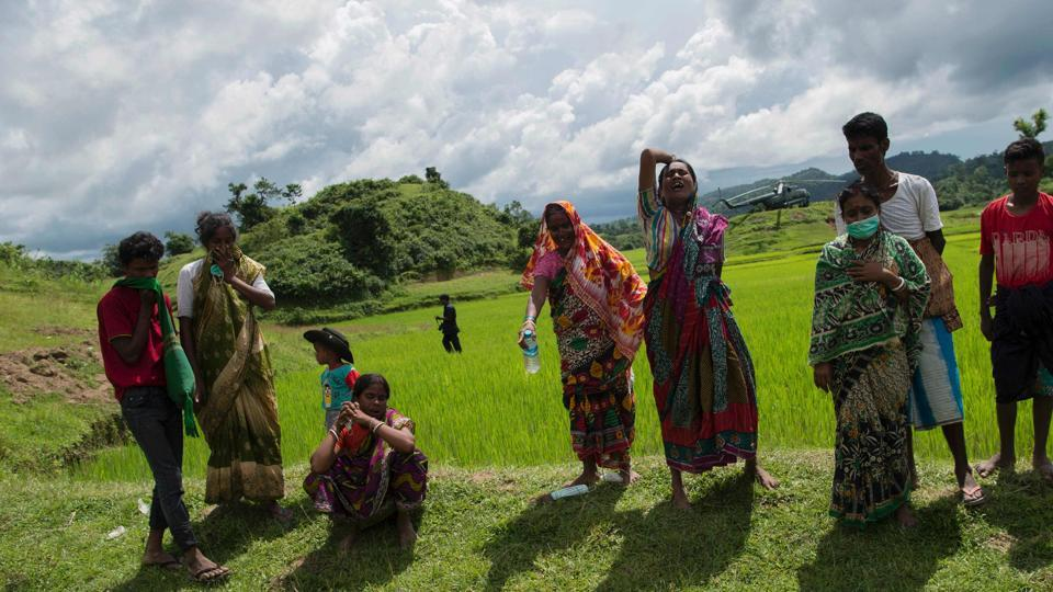 Mass graves of Hindus,Myanmar,Rohingyas