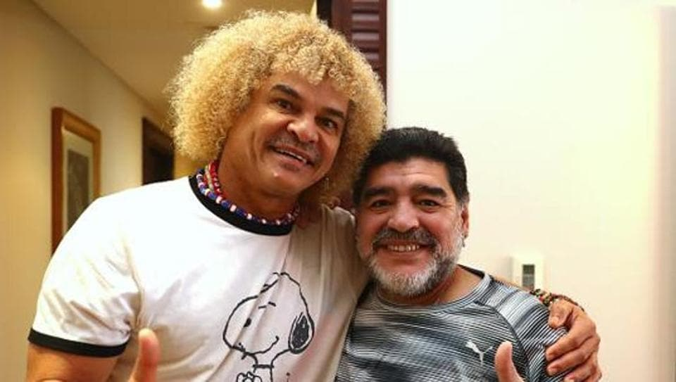 Diego Maradona is expected to participate in a football conclave alongside celebrities like Indian cricket team captain Sourav Ganguly. The event will be a closed-door affair.