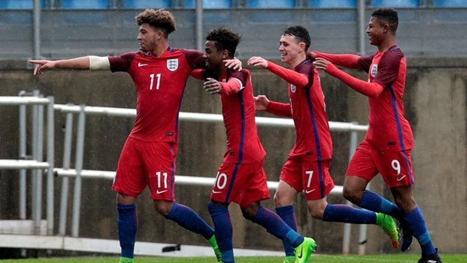 U17s show promise in England loss
